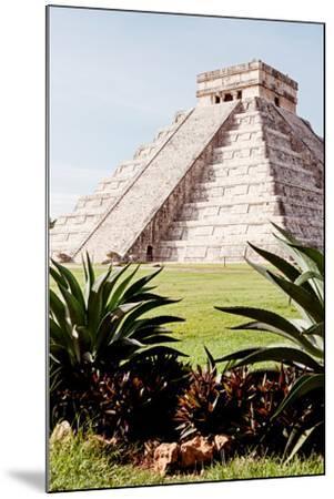 ?Viva Mexico! Collection - El Castillo Pyramid of the Chichen Itza IV-Philippe Hugonnard-Mounted Photographic Print