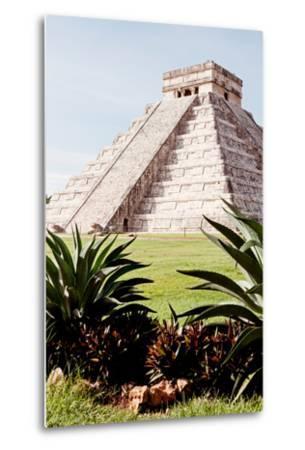 ?Viva Mexico! Collection - El Castillo Pyramid of the Chichen Itza IV-Philippe Hugonnard-Metal Print