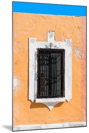 ?Viva Mexico! Collection - Orange Window - Campeche-Philippe Hugonnard-Mounted Photographic Print