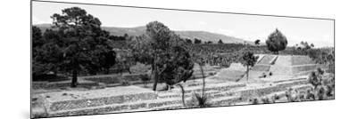 ¡Viva Mexico! Panoramic Collection - Pyramid of Cantona - Puebla III-Philippe Hugonnard-Mounted Photographic Print