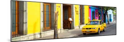 ¡Viva Mexico! Panoramic Collection - Colorful Street in Oaxaca VIII-Philippe Hugonnard-Mounted Photographic Print