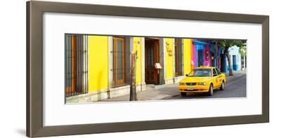 ¡Viva Mexico! Panoramic Collection - Colorful Street in Oaxaca VIII-Philippe Hugonnard-Framed Photographic Print