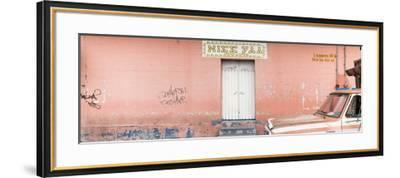 """¡Viva Mexico! Panoramic Collection - """"5 de febrero"""" Coral Wall-Philippe Hugonnard-Framed Photographic Print"""