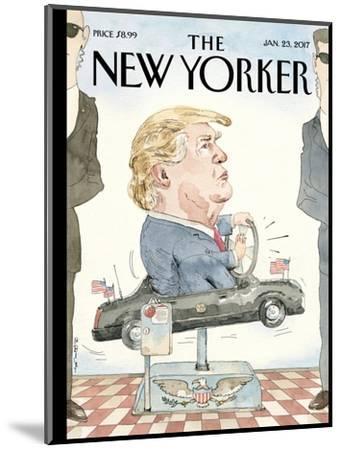The New Yorker Cover - January 23, 2017-Barry Blitt-Mounted Premium Giclee Print