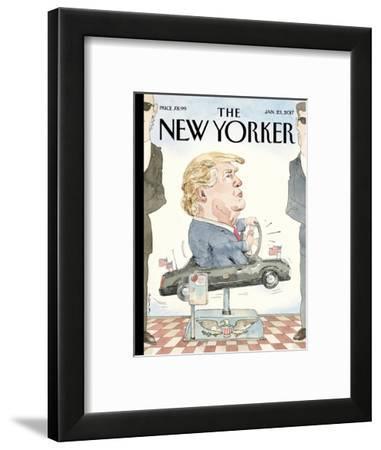 The New Yorker Cover - January 23, 2017-Barry Blitt-Framed Premium Giclee Print