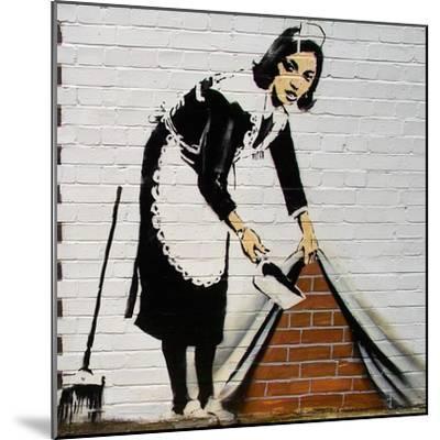Maid-Banksy-Mounted Giclee Print