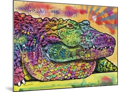 Crocodile-Dean Russo-Mounted Giclee Print