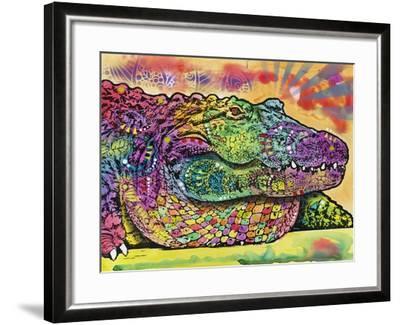 Crocodile-Dean Russo-Framed Giclee Print
