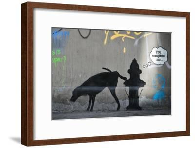 You Complete Me-Banksy-Framed Giclee Print