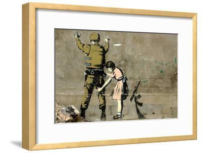 War-Banksy-Framed Giclee Print
