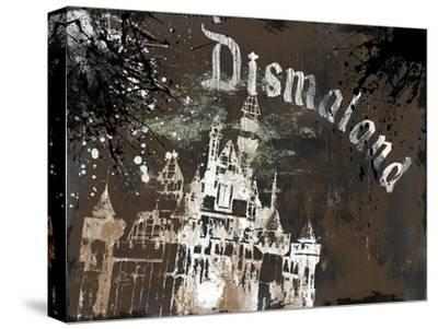 Dismal's Castle-Banksy-Stretched Canvas Print
