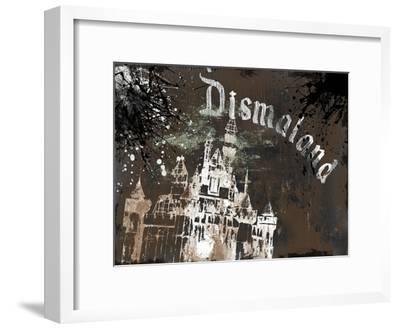 Dismal's Castle-Banksy-Framed Giclee Print