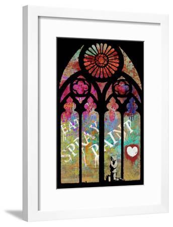 Eat, Spray, Love-Banksy-Framed Premium Giclee Print