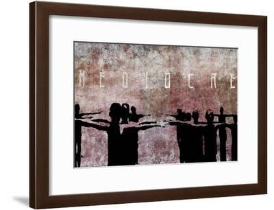 Mediocre-Banksy-Framed Giclee Print