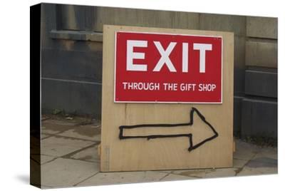 Exit Through the Gift Shop-Banksy-Stretched Canvas Print