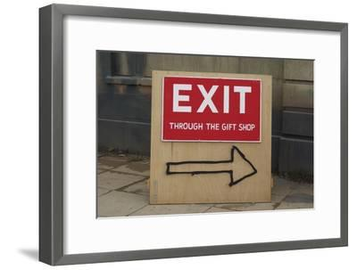 Exit Through the Gift Shop-Banksy-Framed Giclee Print