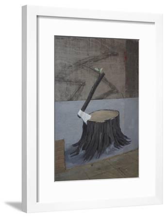 Renaissance-Banksy-Framed Giclee Print