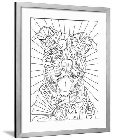 Beware CB-Dean Russo-Framed Giclee Print
