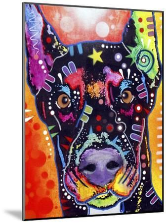 Doberman-Dean Russo-Mounted Giclee Print