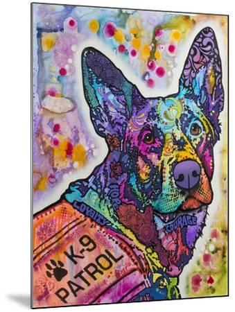 K-9 Patrol Large-003-Dean Russo-Mounted Giclee Print