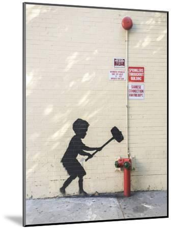 Better Out Than In-Banksy-Mounted Giclee Print