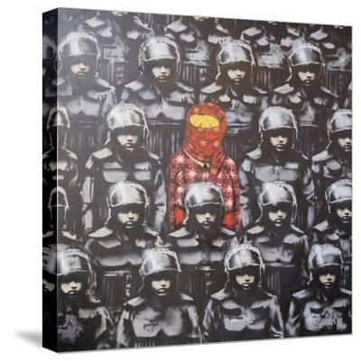 24th Street #2-Banksy-Stretched Canvas Print