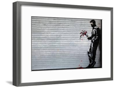 Hustler Club-Banksy-Framed Premium Giclee Print