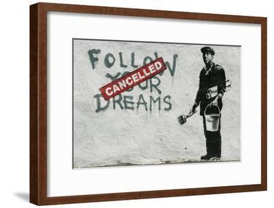 Cancelled Dreams-Banksy-Framed Giclee Print