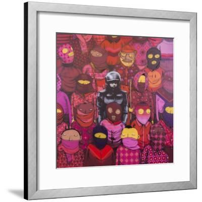 24th Street #1-Banksy-Framed Giclee Print