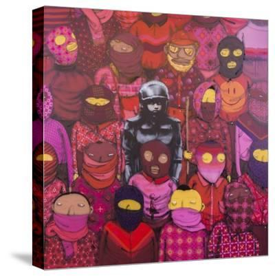 24th Street #1-Banksy-Stretched Canvas Print