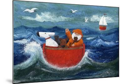 All Aboard-Peter Adderley-Mounted Art Print