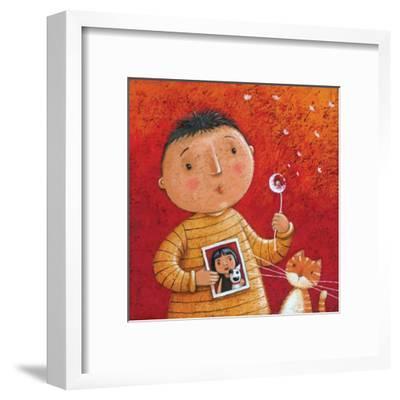 She Loves Me-Peter Adderley-Framed Art Print