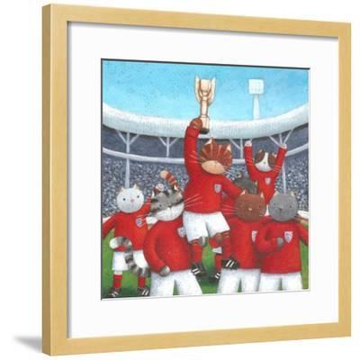 The Champions-Peter Adderley-Framed Art Print