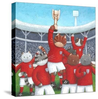 The Champions-Peter Adderley-Stretched Canvas Print