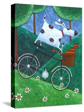 Duke's Bike Ride-Peter Adderley-Stretched Canvas Print