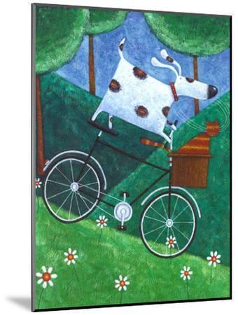 Duke's Bike Ride-Peter Adderley-Mounted Art Print