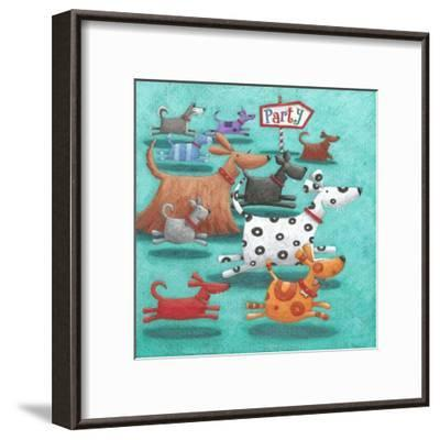 Party-Peter Adderley-Framed Art Print