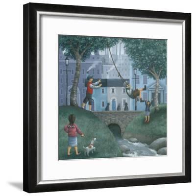 The Swing-Peter Adderley-Framed Art Print