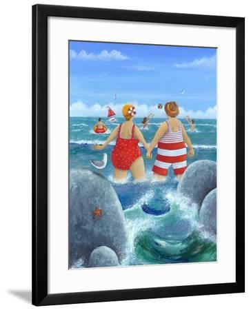 I Do Like to Be Beside the Seaside-Peter Adderley-Framed Art Print