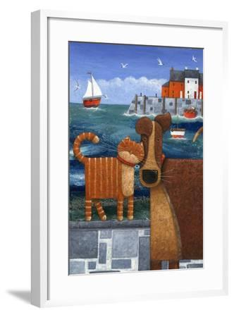 Pets by the Sea-Peter Adderley-Framed Art Print