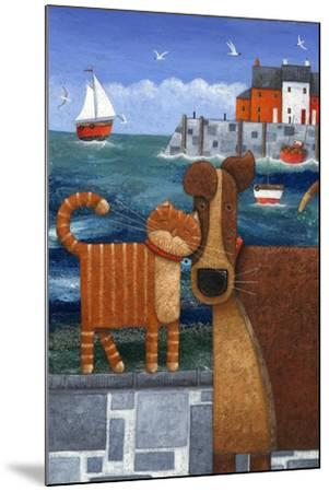 Pets by the Sea-Peter Adderley-Mounted Art Print