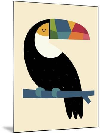 Rainbow Toucan-Andy Westface-Mounted Giclee Print