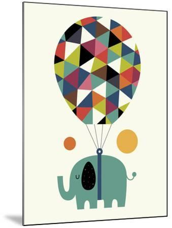 Fly High and Dream Big-Andy Westface-Mounted Giclee Print
