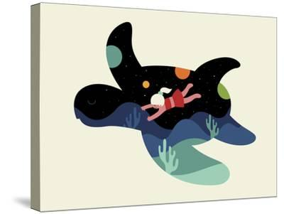 Ocean Roaming-Andy Westface-Stretched Canvas Print