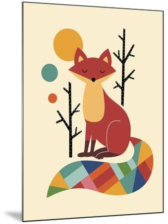 Rainbow Fox-Andy Westface-Mounted Giclee Print