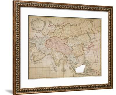 Asia in its Principal Divisions, London, 1767-John Spilsbury-Framed Giclee Print
