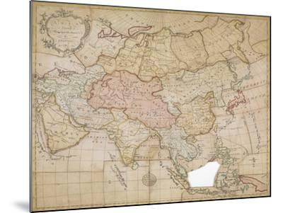 Asia in its Principal Divisions, London, 1767-John Spilsbury-Mounted Giclee Print