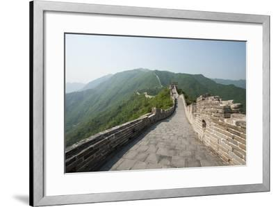 The Original Mutianyu Section of the Great Wall, Beijing, China-Michael DeFreitas-Framed Photographic Print