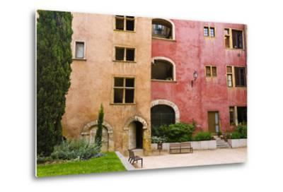 The Lawyers House in Old Town Vieux Lyon, France-Russ Bishop-Metal Print