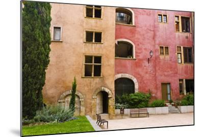 The Lawyers House in Old Town Vieux Lyon, France-Russ Bishop-Mounted Photographic Print